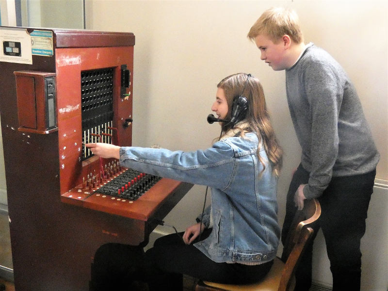 1960s Telephone Switchboard